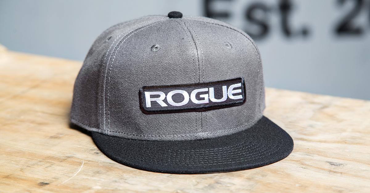 Rogue Snapback Patch Hat - Baseball Cap - Gray  17f2b67771e