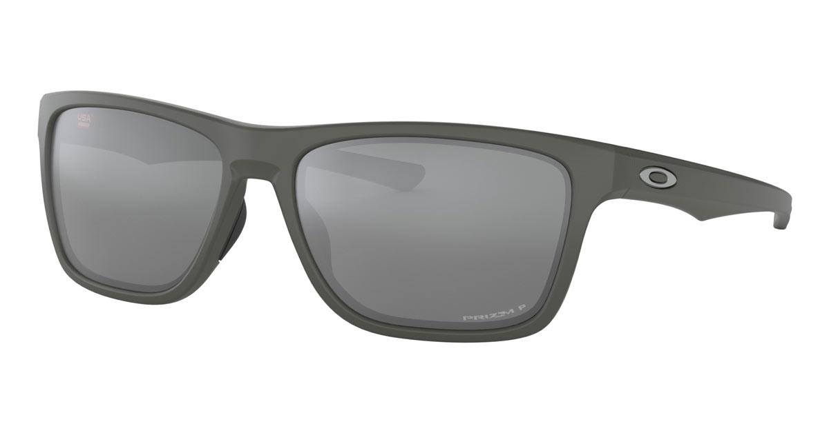 Oakley Holston Matte Dark Gray Prizm Black Polarized Sunglasses ... fdd5a5f0bd