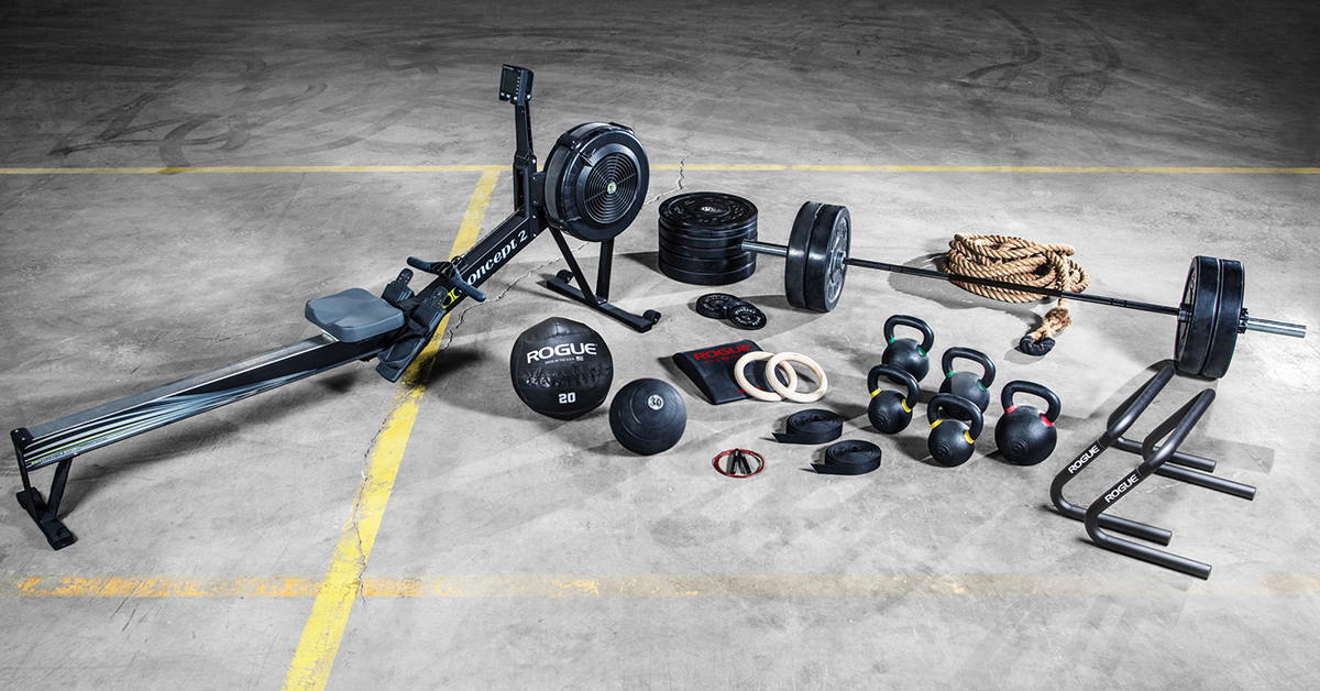 Warrior crossfit™ package equipment rogue canada