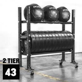 "2-Tier Mass Storage System - 43"""