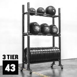 "3-Tier Mass Storage System - 43"""