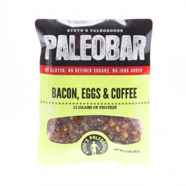 Paleobar Bacon Eggs Coffee
