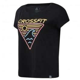 Reebok CrossFit Women's Neon Retro Tee
