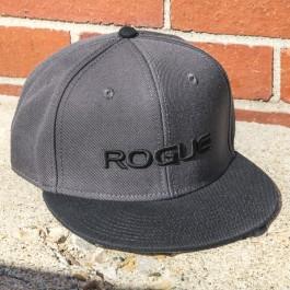 Rogue Gray Flat Bill Hat