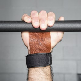 RooGrips 2 Hole Hand Grips - Pebble Grain