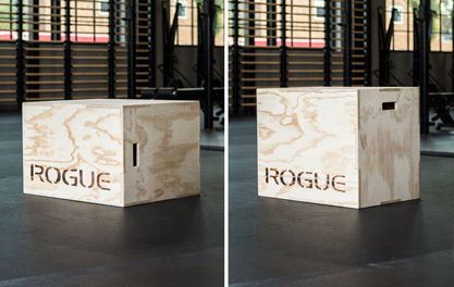 Rogue Games Box - 3 in 1 Wood Plyo Box | Rogue Canada