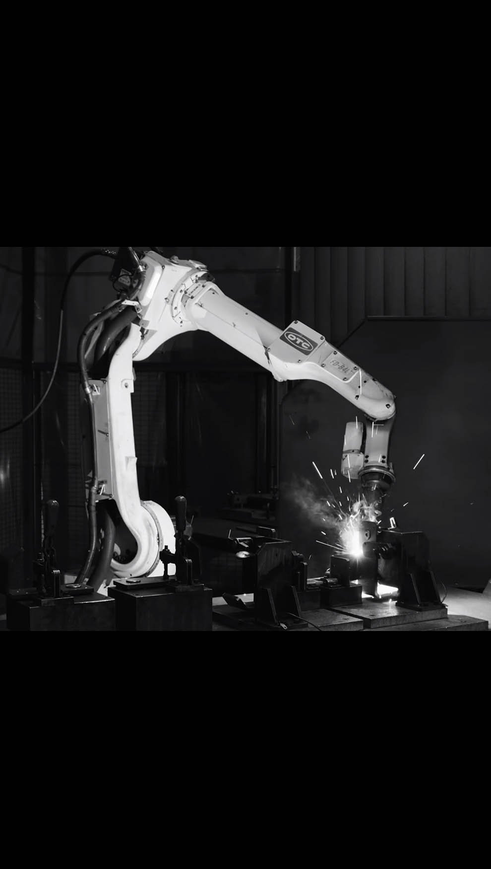Robot Welding Video Still